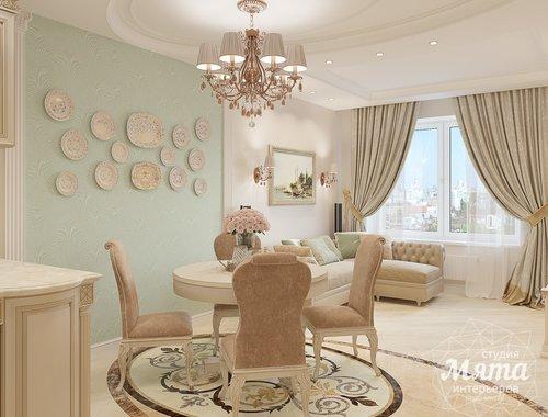 Дизайн интерьера двухкомнатной квартиры ЖК Ольховский парк